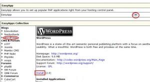 IXWebHosting安装WordPress教程